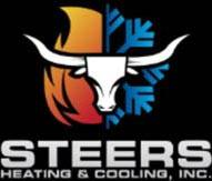 Steers heating and cooling logo